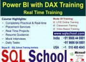 Power bi(dax & custom visualizations) real time on