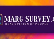Political survey for elected representative