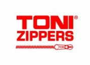 Toni zippers - india's largest manufacturers