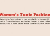 Tunic tops - buy the latest women tunics online