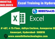 Excel training in hyderabad