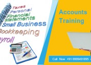 Attend job oriented accounts course in delhi