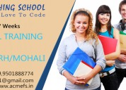 Free industrial training in mohali ,chandigarh