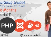 Six /6 months weeks industrial training in mohali