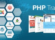 Six/6 months  weeks industrial training in php