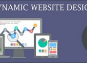 Best dynamic website services are provided by tech
