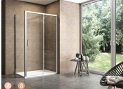 Shower cubicle, glass shower doors, shower enclosu
