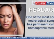 Best homeopathy clinics in bangalore for headache