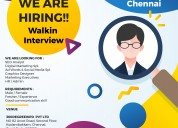 Urgently required for graphic designer