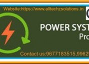 Best  power system project center in velachery - g