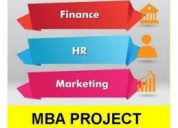 Best mba project center in kanchipuram.