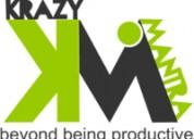organization with Krazy Mantra BPO Services