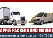 Packers and movers apple logistic services india