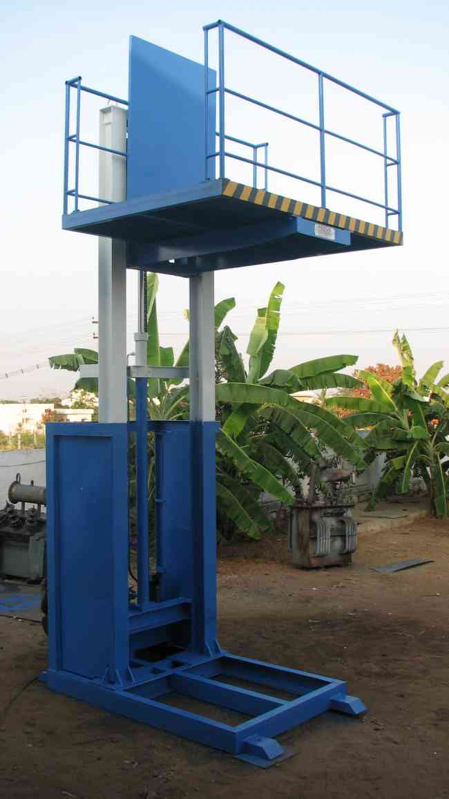 Hydraulic Goods Lift Manufacturers in Coimbatore,