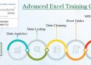 Attend advanced excel training course in delhi