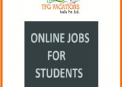 Online part - time home based work