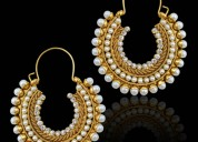 Stylish hoops designs at mirraw