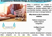 E-commerce website design & development services