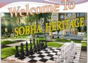 Sobha heritage super luxury apartment for sale