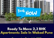2,3 bhk flats for sale in wakad pune