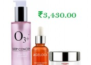 O3+ skin brightening home care kit
