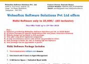 Nidhi company software starting at 23600