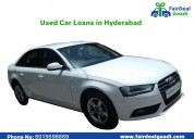 Best used car loans in hyderabad