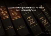 Legal case management software