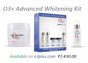 O3+ advanced whitening kit