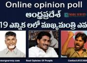 Famous political survey companies in andhrapradesh