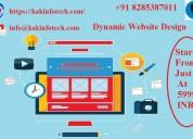 Best dynamic website design company in delhi