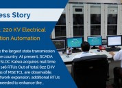 Scada: 220 kv electrical substation automation