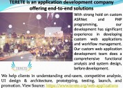 Terete is an application development company offer