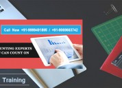 Attend best e-accounting training course in delhi