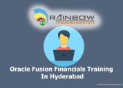 Oracle fusion financials online training   cloud