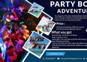 Offering the best party boat in goa