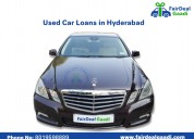 Get best loans for used cars in hyderabad