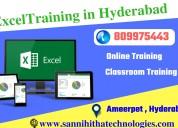 Excel training in hyderabad