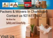 Movers and packers services  in chandigarh