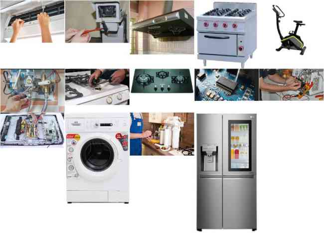 Electric and Gas Appliances Repairs and Service