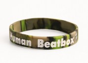 Human beatbox wristbands