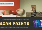 buy asian paints color online at econstructionmart