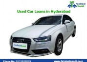 Best used car loans at fairdeal