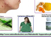 Herbal treatment for hidradenitis suppurativa