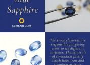 Magic of blue sapphire| buy blue sapphire online