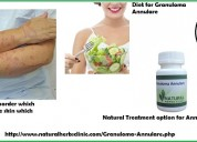 Herbal treatment for granuloma annulare