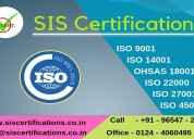 Get  iso certification in delhi at best price
