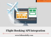 Flight booking api integrations