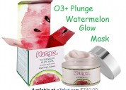 O3+ plunge watermelon glow mask