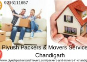 Packers and movers services in chandigarh